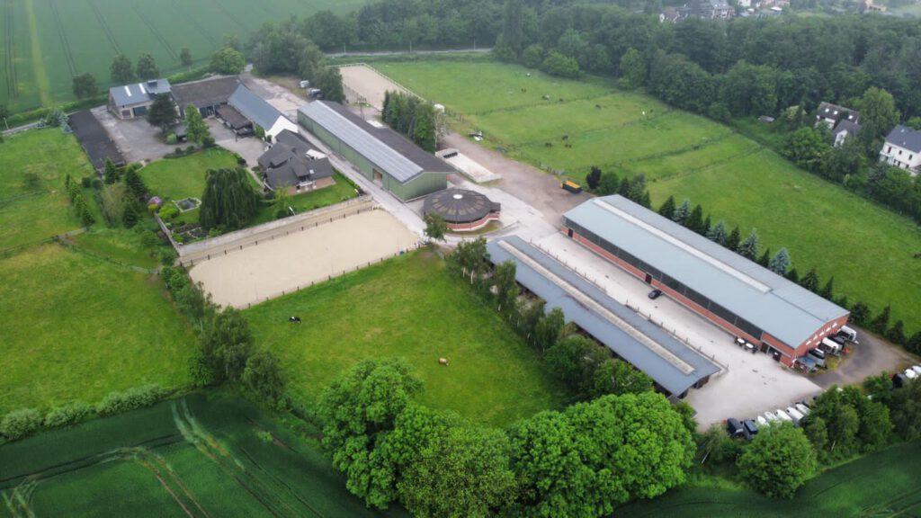 Luftaufnahme Hof Düren